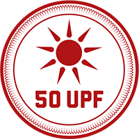 A garment with 50 UPF protection