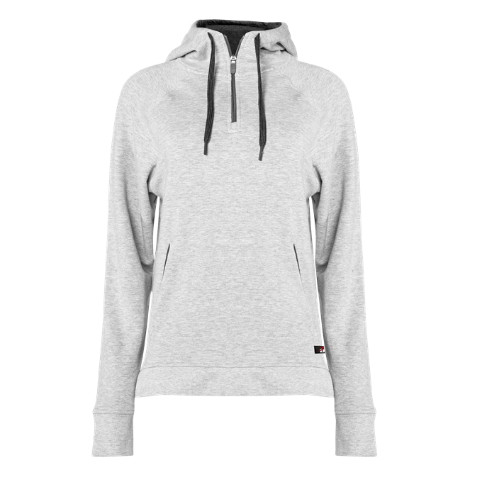Fitflex French Terry Ladies' Hood Zip