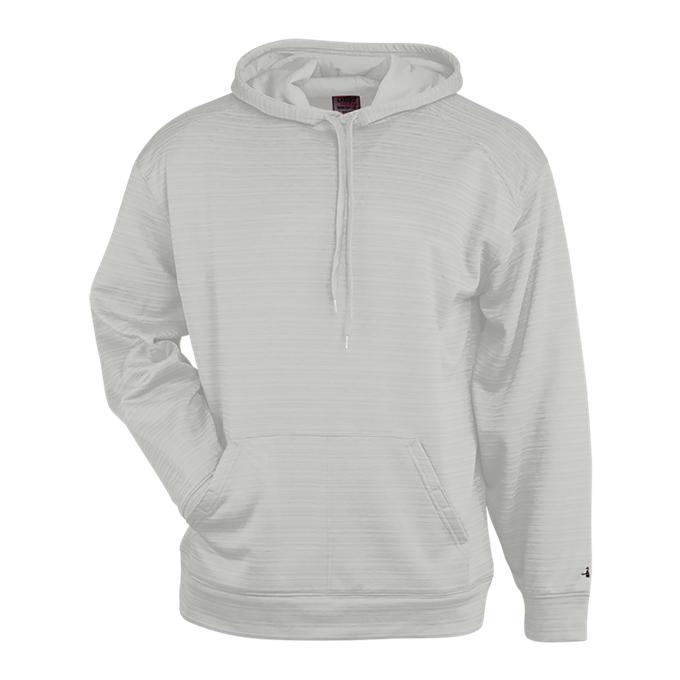 Stripe Fleece Hood