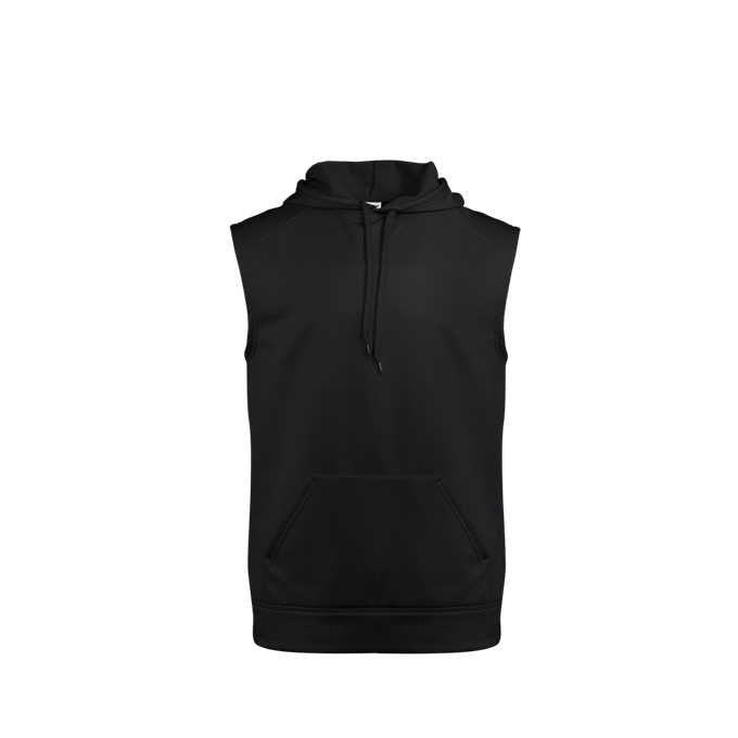 Perf. Fleece Sleeveless Hood