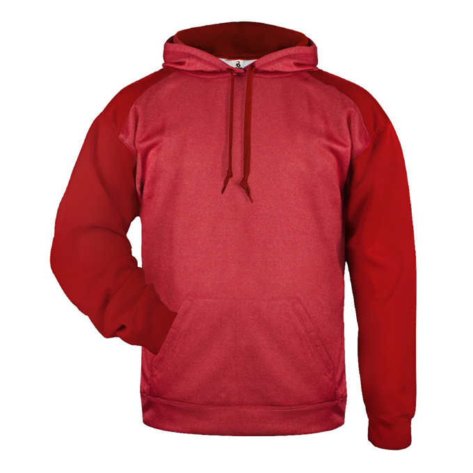 Sport Heather Tonal Hood