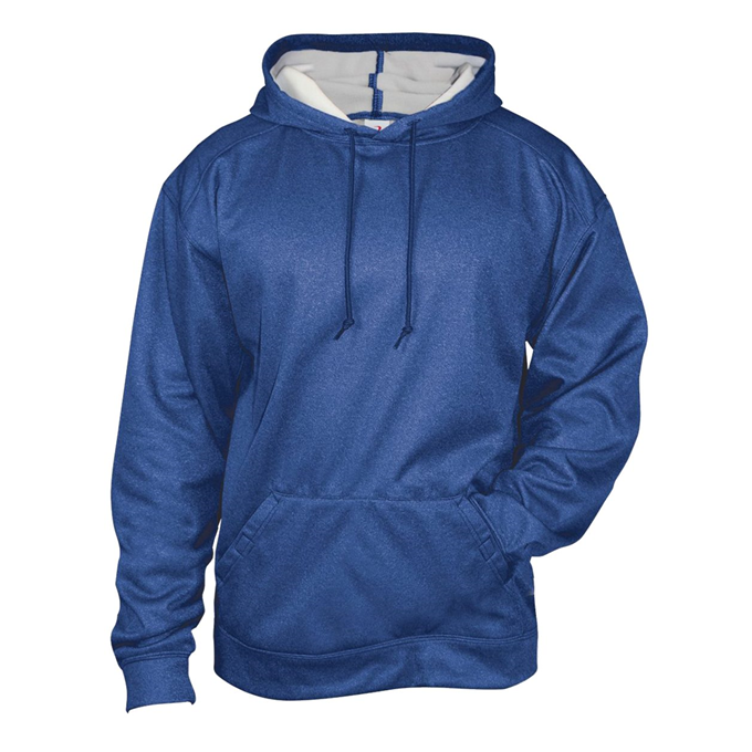 Pro Heather Fleece Hood
