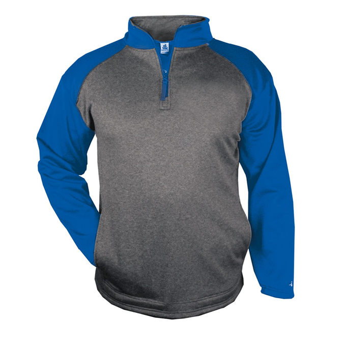 Sport Heather Fleece 1/ 4 Zip