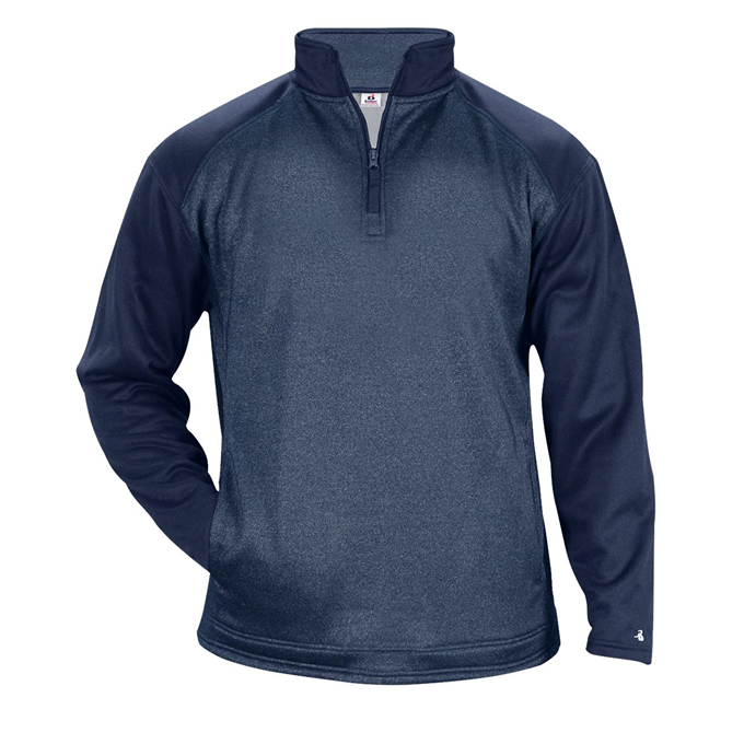 Sport Heather Tonal Fleece 1/4 Zip