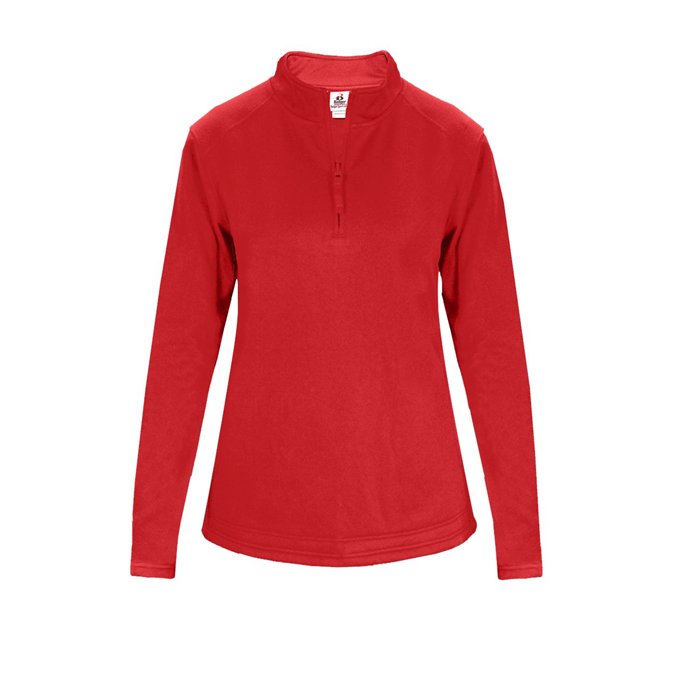 Perf. Fleece Women's 1/ 4 Zip