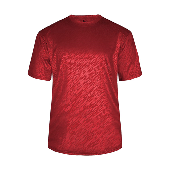 Line Embossed Youth Tee