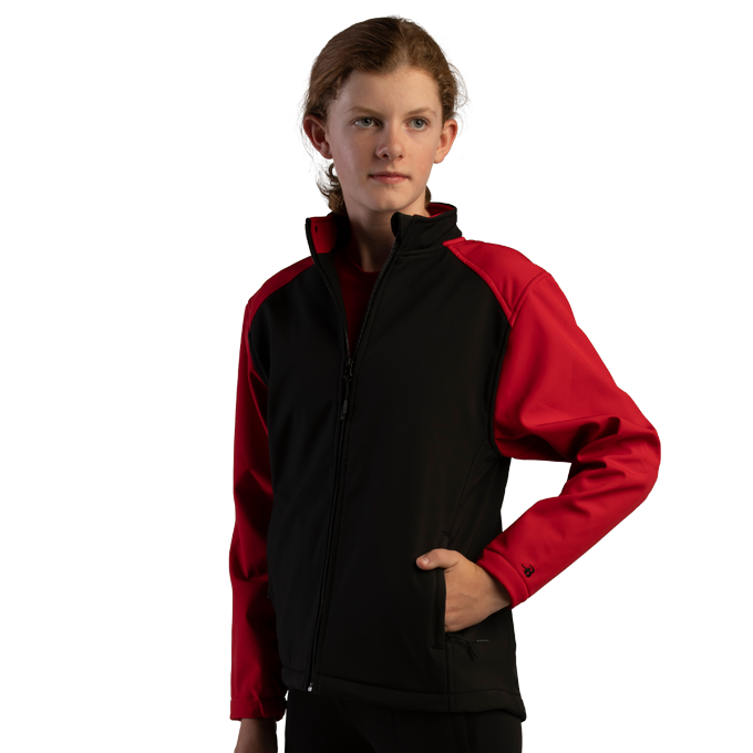 Soft Shell Sport Youth Jacket