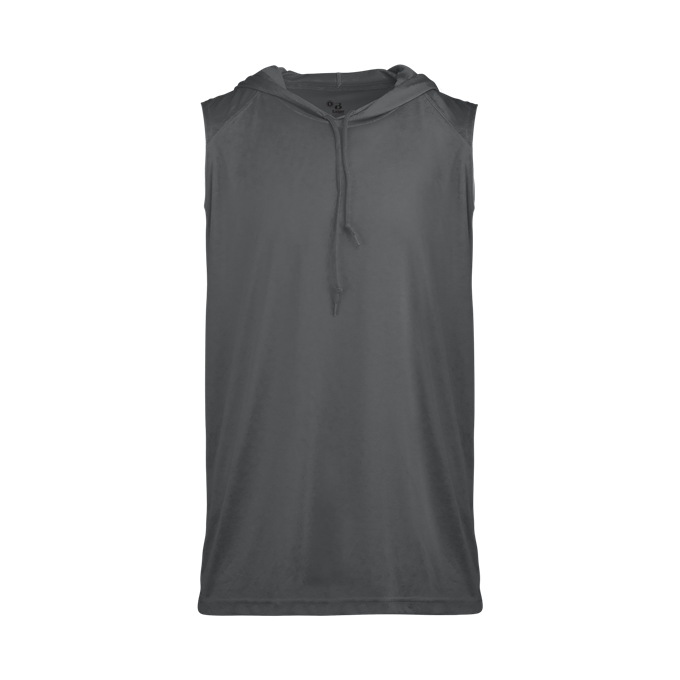 B-Core Sleeveless Hood Tee