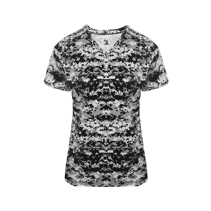 Digital Women's V-Neck Tee