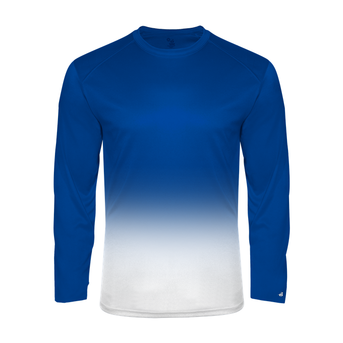 Ombre L/S Youth Tee