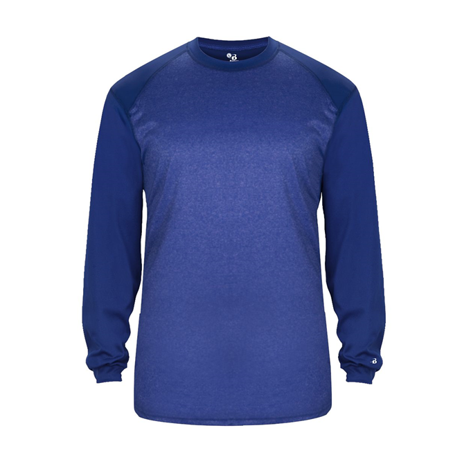 Sport Heather Tonal L/S Tee