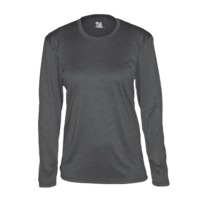Pro Heather Women's L/S Tee