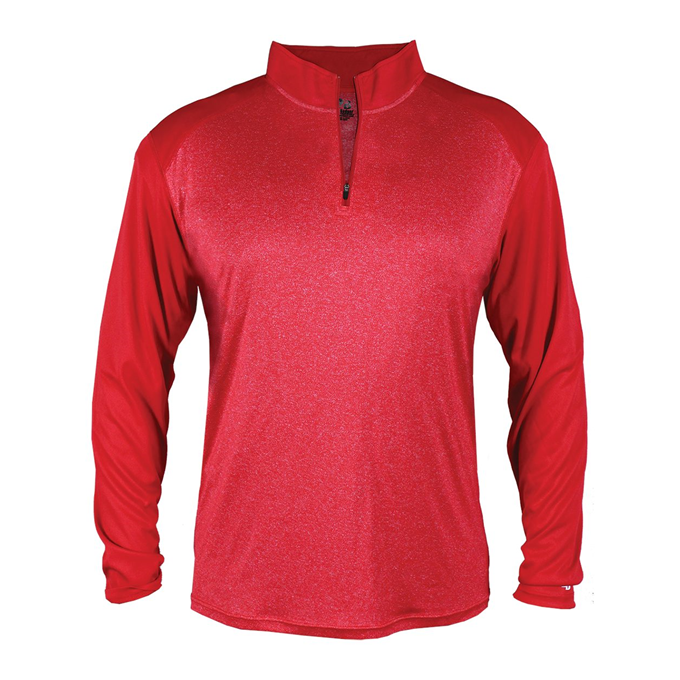 Sport Heather Tonal 1/ 4 Zip