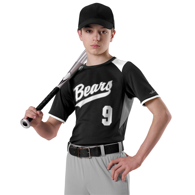 Adult Baseball Crew Neck Jersey