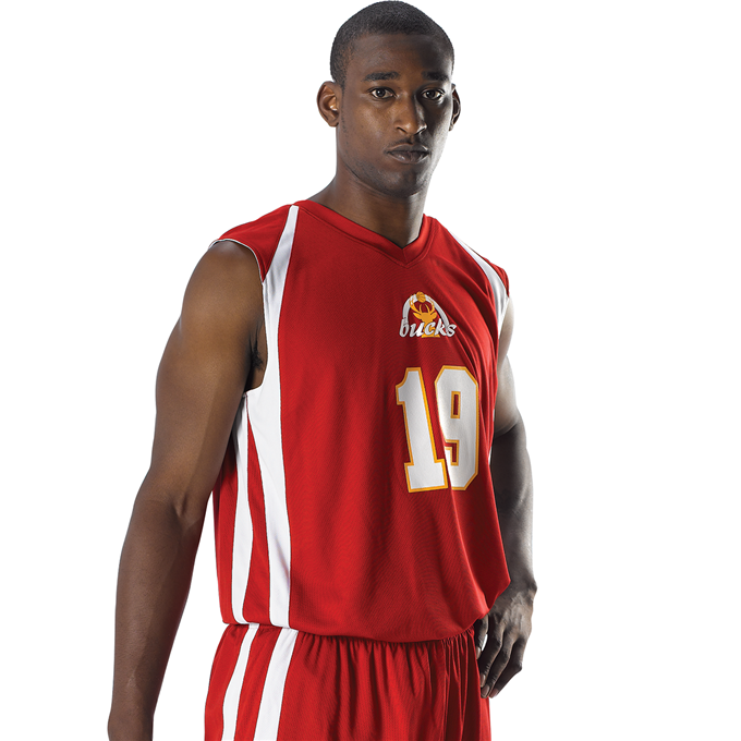 Mens Reversible Basketball Jersey