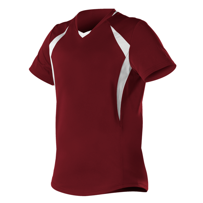 Girls Short Sleeve Fastpitch Jersey