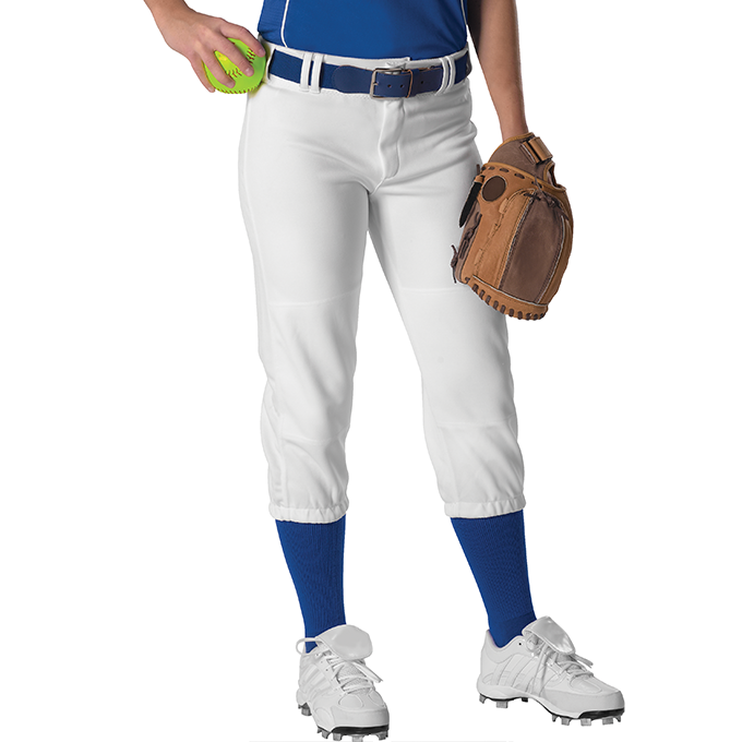 Womens Belt Loop Fastpitch Pant