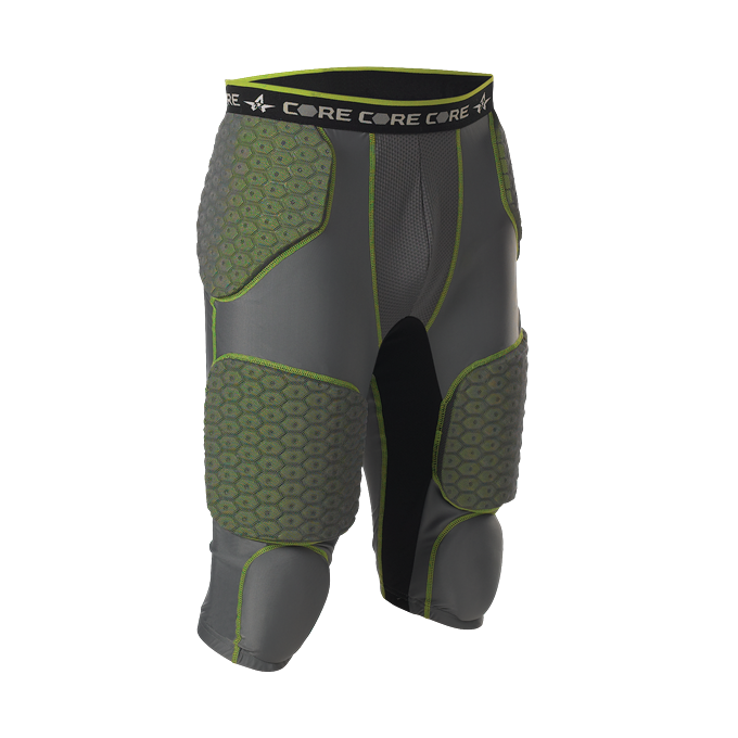 Adult Integrated 7 Padded Football Girdle