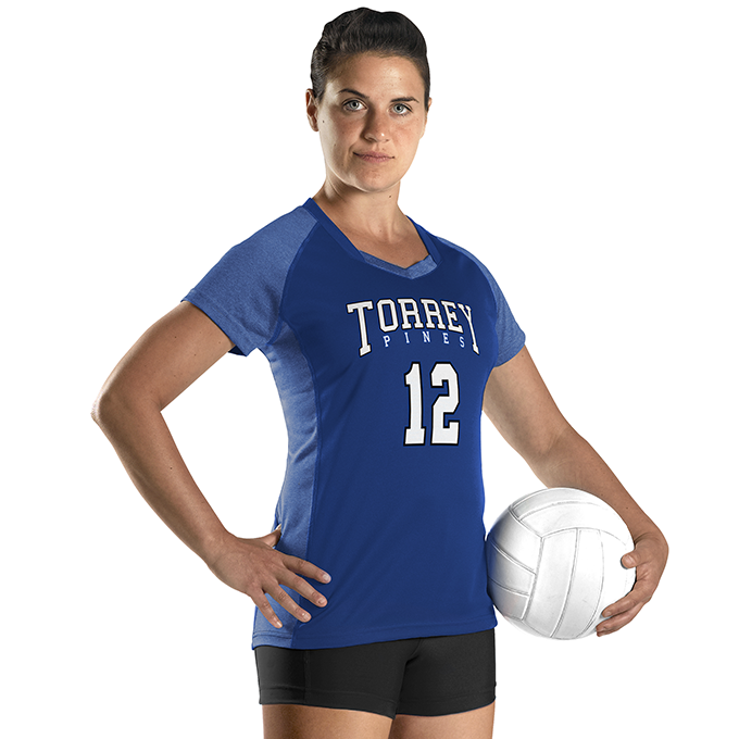 Womens Dig Short Sleeve Volleyball Jersey