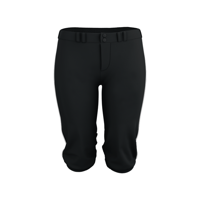 Womens Belted Piped Fastpitch Pant