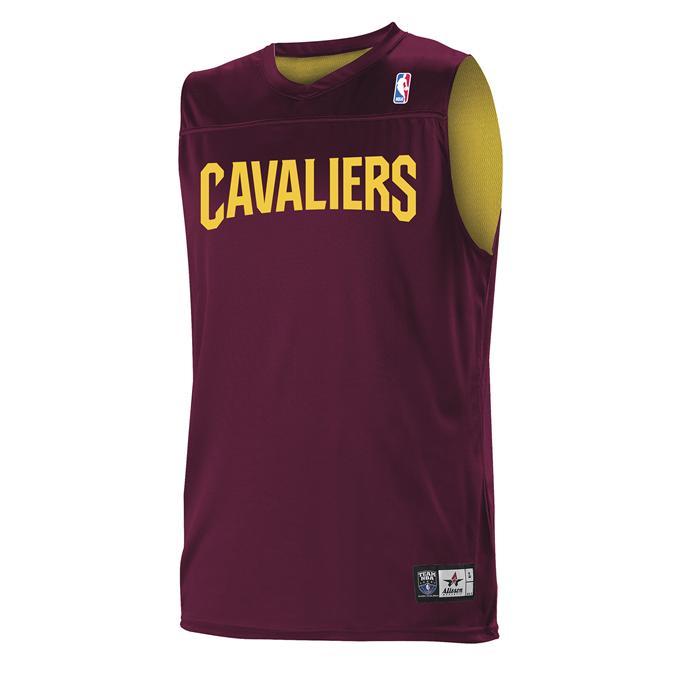 Adult NBA Logo Reversible Game Jersey