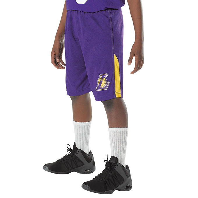 Adult NBA and WNBA Logo Short