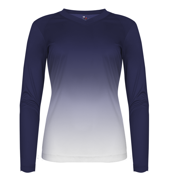 Women's Ombre Volleyball Jersey