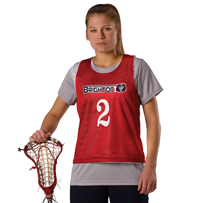 Womens Lacrosse Reversible Pinnie