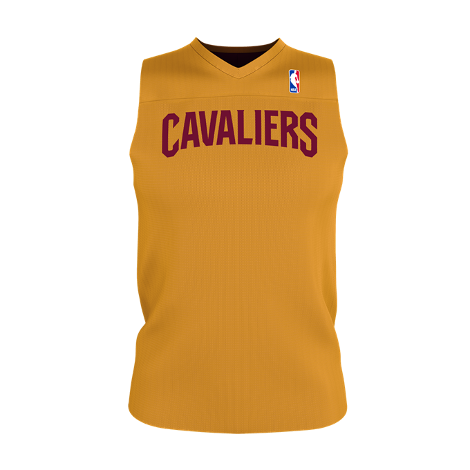 Adult NBA Logo Reversible Game Jersey