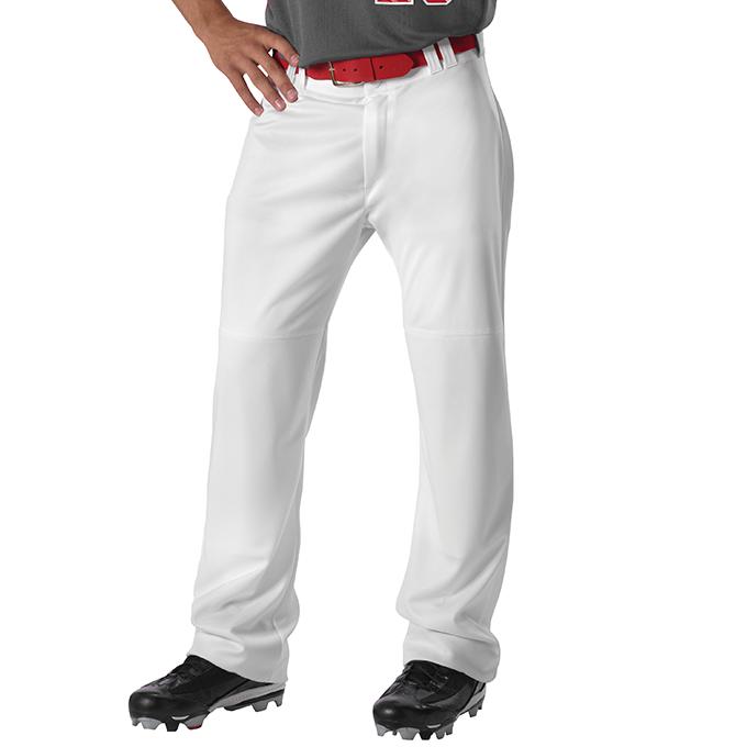Adult Warp Knit Wide Leg Baseball Pant