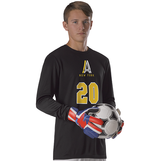 Adult Long Sleeve Goalie Soccer Jersey