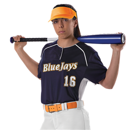 Womens Fastpitch 2 Button Jersey
