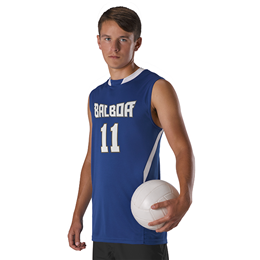 Adult Cut Block Sleeveless Volleyball Jersey