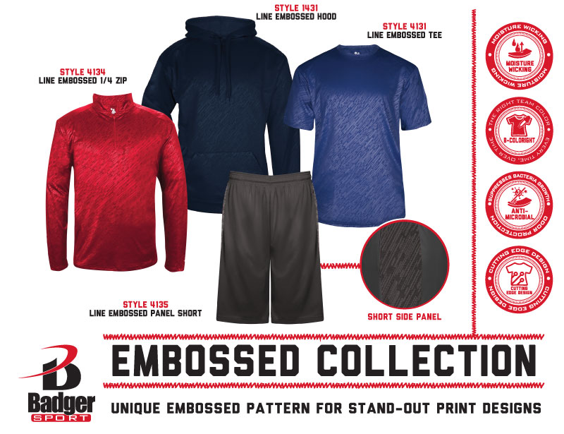 Badger Flyer - Embossed Collection