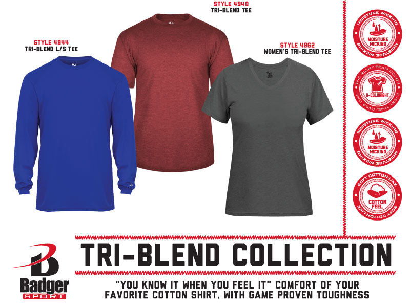 Badger Flyer - Tri-Blend Collection
