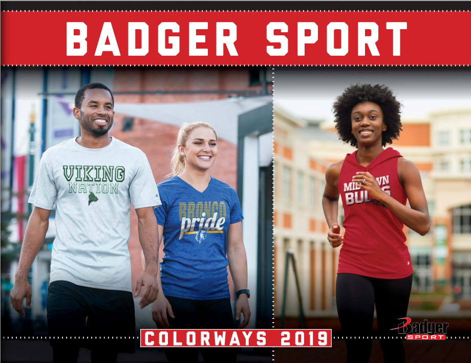 Badger Sports New Styles & Colors Catalog 2018