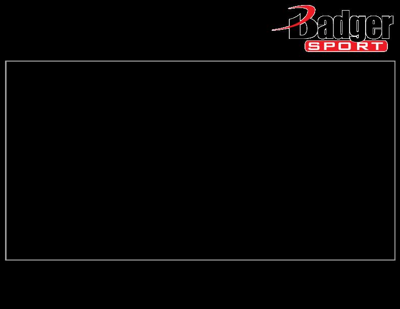 Product Information | Badger Sport - Athletic Apparel