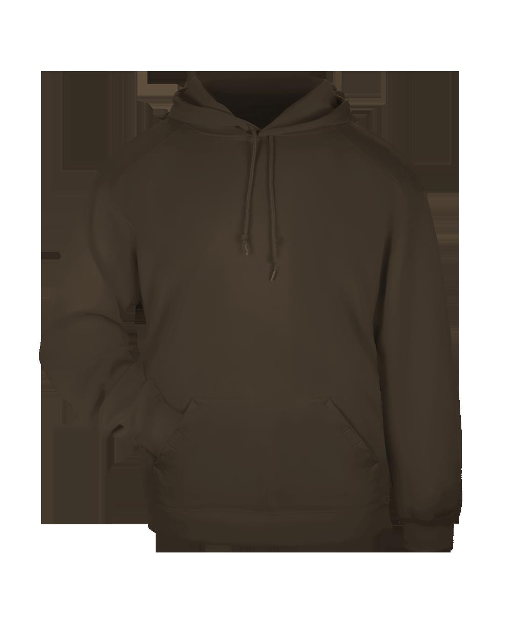 Hooded Sweatshirt - Brown