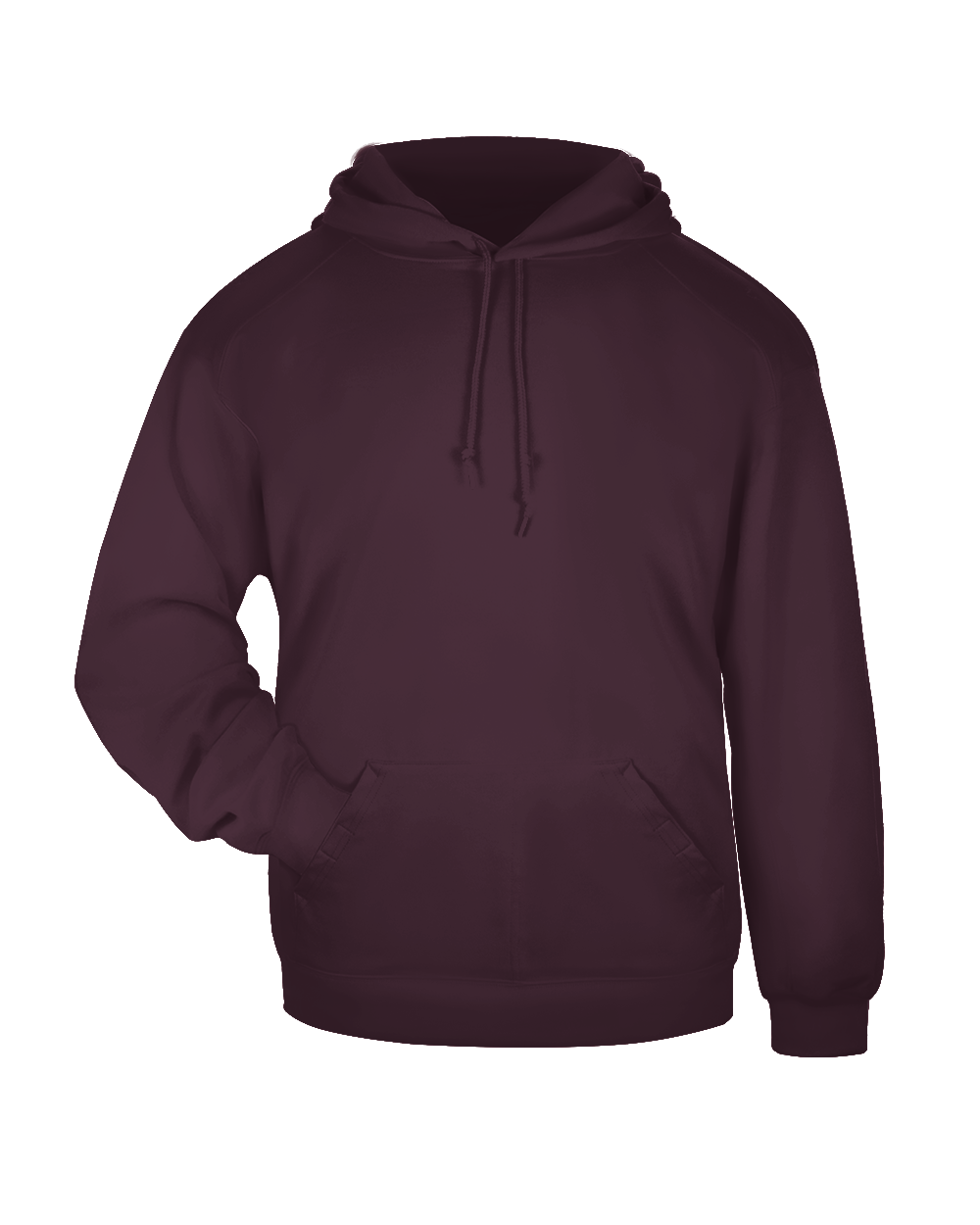 Hooded Sweatshirt - Maroon