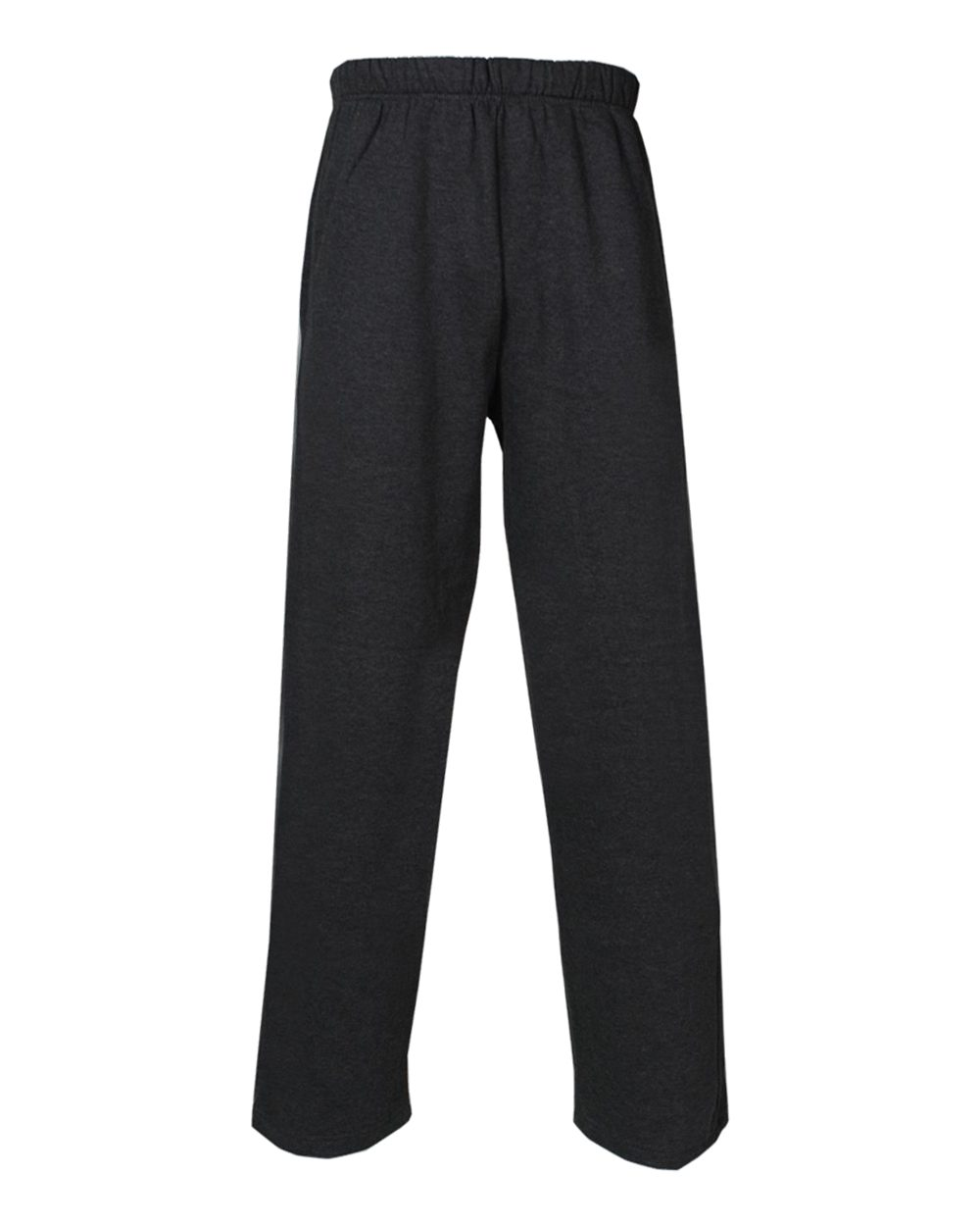 Open Bottom Fleece Pant - Charcoal