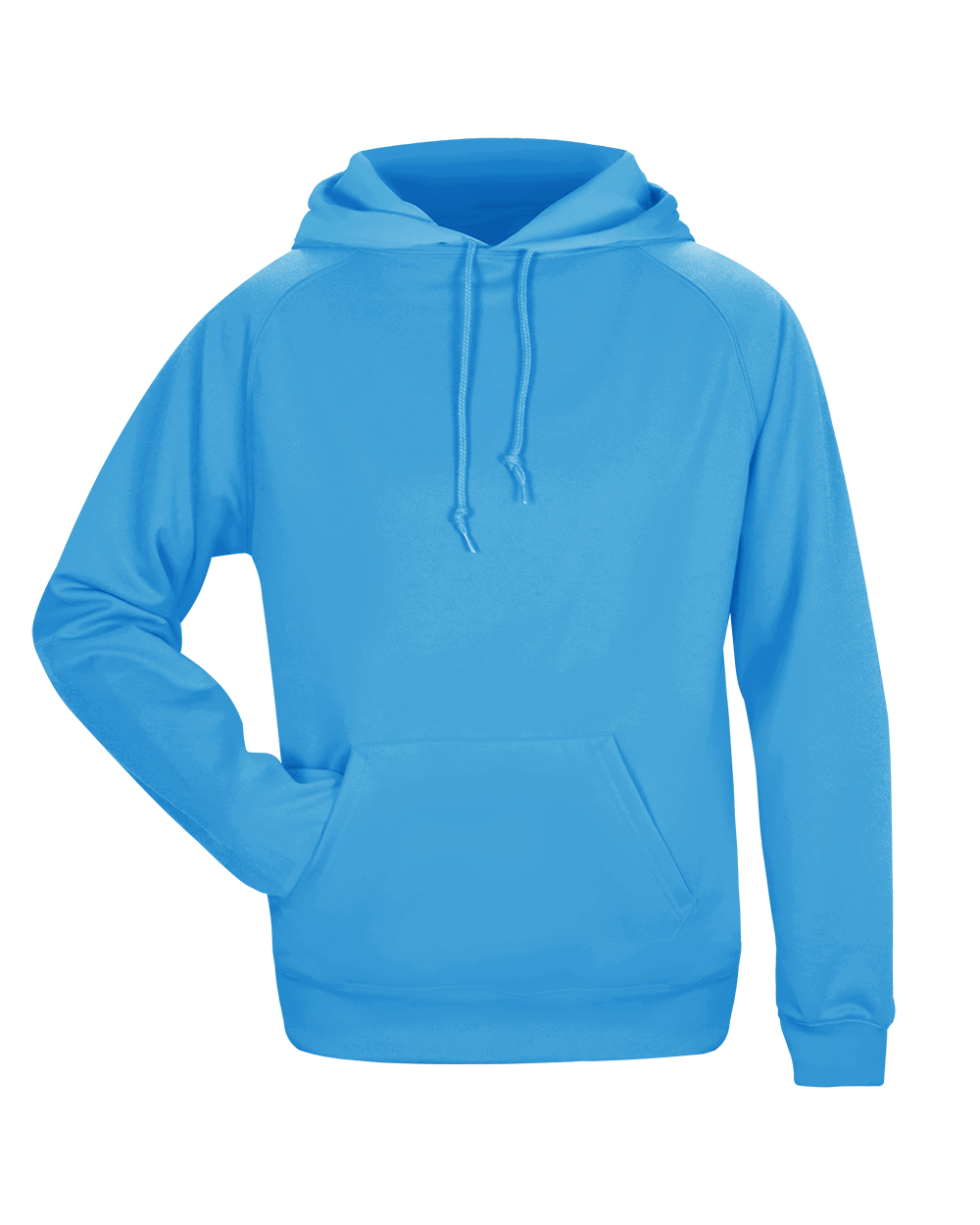 Perf. Fleece Women's Hood - Electric Blue