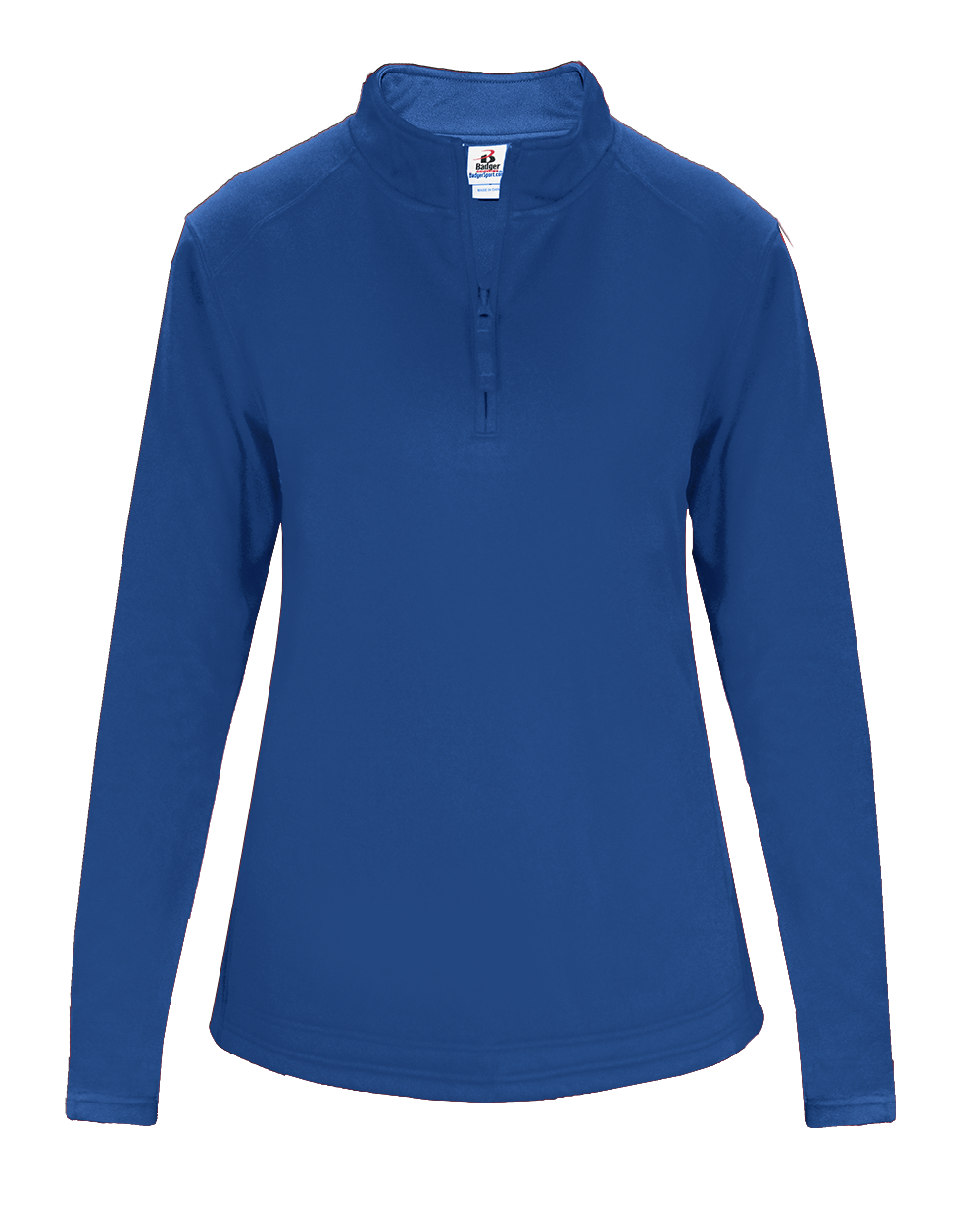 Perf. Fleece Women's 1/ 4 Zip - Royal