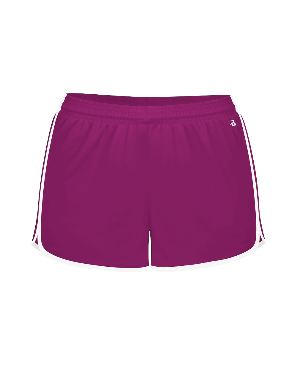 Velocity Girls' Short - Hot Pink/White