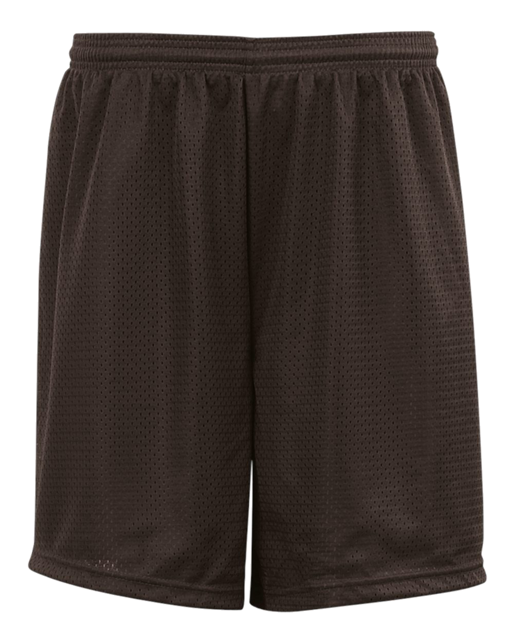 Mesh/Tricot 6 Inch Youth Short - Brown