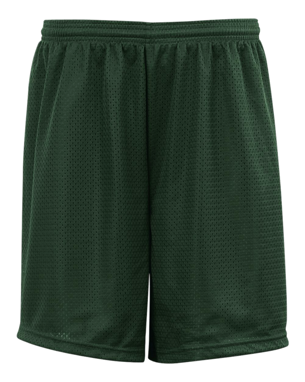 Mesh/Tricot 6 Inch Youth Short - Forest