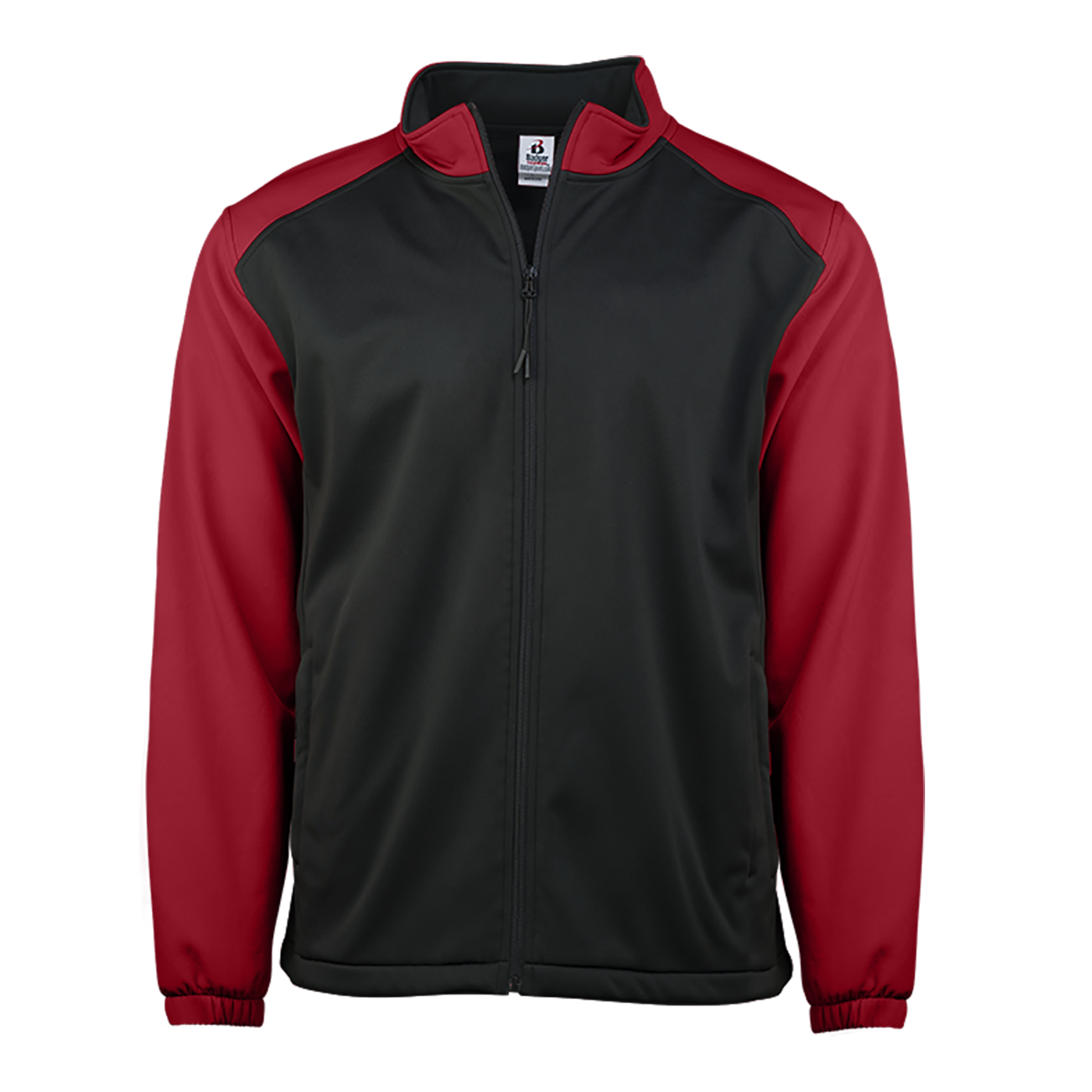 Soft Shell Youth Jacket - Black/Red