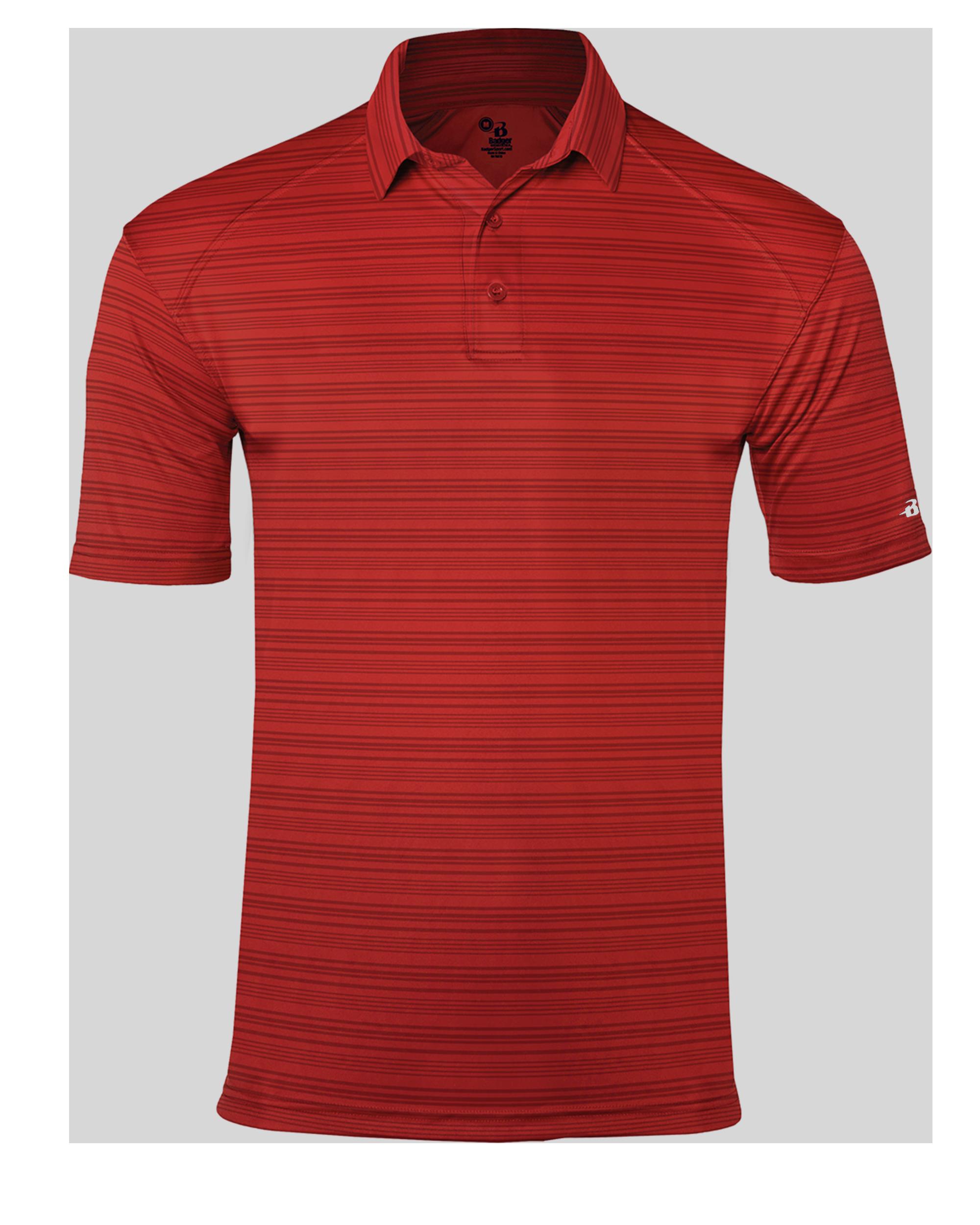 Stripe Polo - Red Stripe