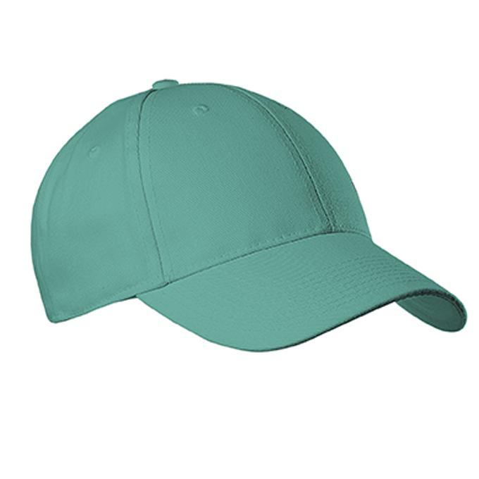 Youth Six Panel Baseball Cap - Teal (3CCTY)