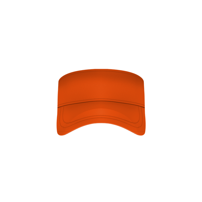 Adult Fastpitch Visor - Burnt Orange