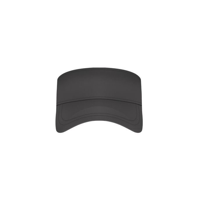 Adult Fastpitch Visor - Charcoal Solid (3VCTA)